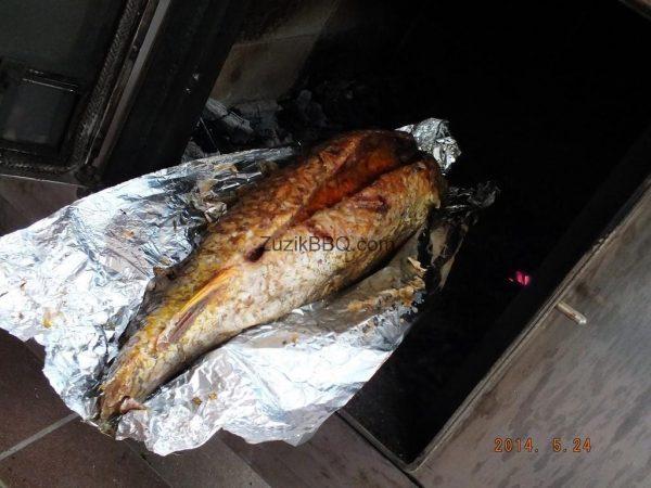 """Підставка для риби з чорного металу """"Пузо"""""""