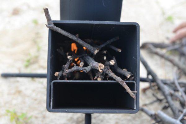 Экономичная мини-печь на дровах «Турбо»