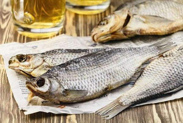 Як правильно сушити рибу
